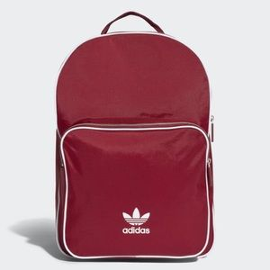 Adidas Classic Adicolor Large Backpack in red